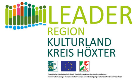 Dorf-Zukunft-Digital Logo LEADER